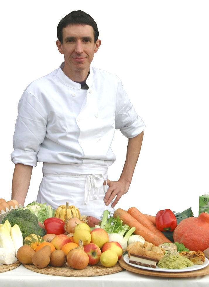 Photo de Gilles Daveau traiteur bio 2005